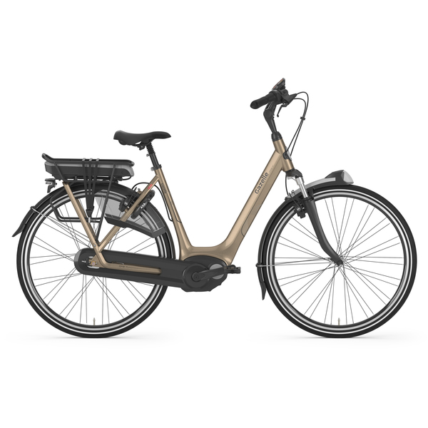 "E-Bike Gazelle Orange C8 HMB Damen 8G 28"" Gold Akku 400 Wh Freilauf"