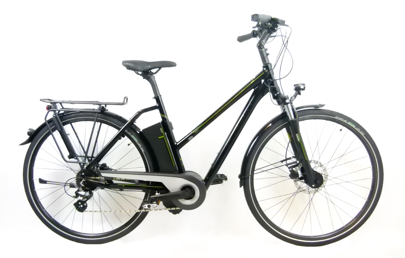 e bike kalkhoff pro connect i8 11ah trapez 28 black. Black Bedroom Furniture Sets. Home Design Ideas