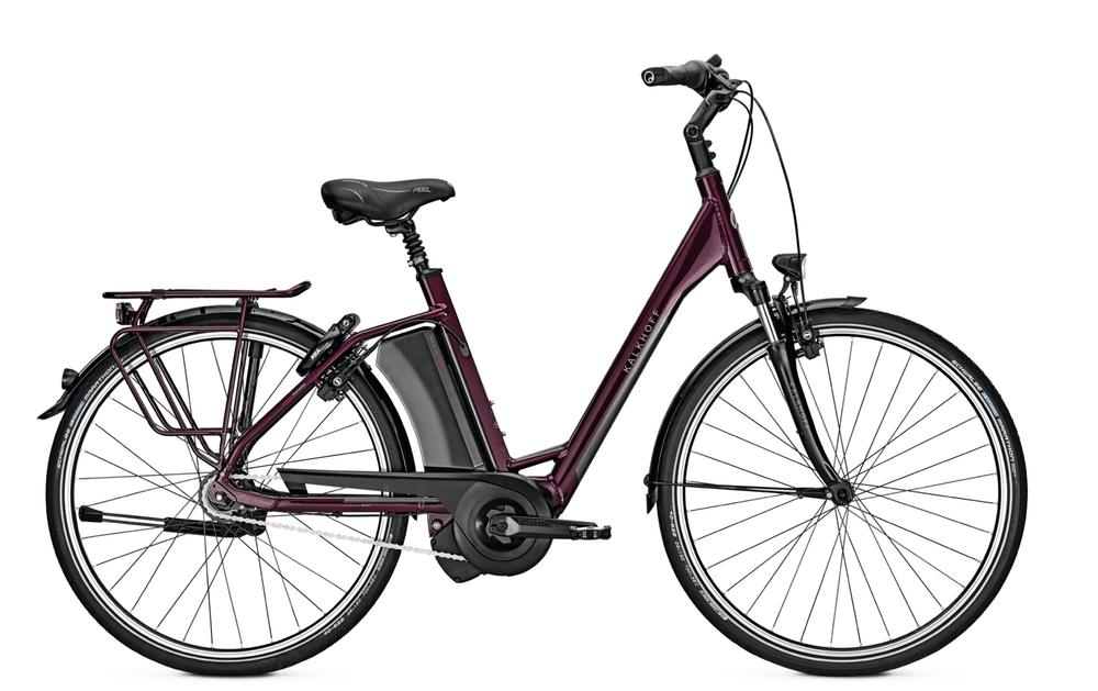 E-Bike Kalkhoff Select I8R 17,5 Ah Wave Ruecktritt, EVO-Motor