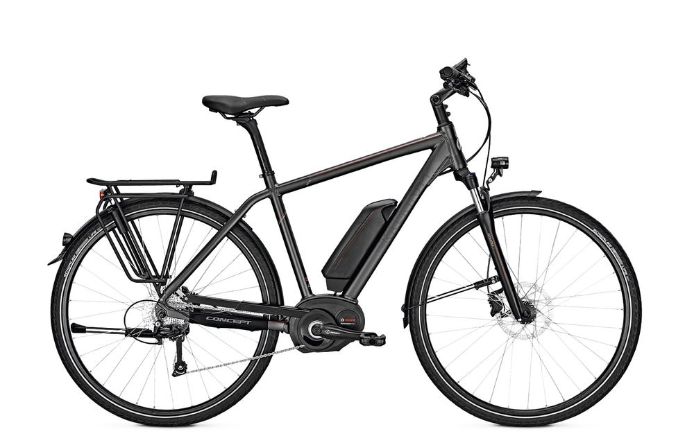 E-Bike Kalkhoff Pro Connect b10 13.4Ah 28 Zoll 10G Herren Freilauf darkgrey matt