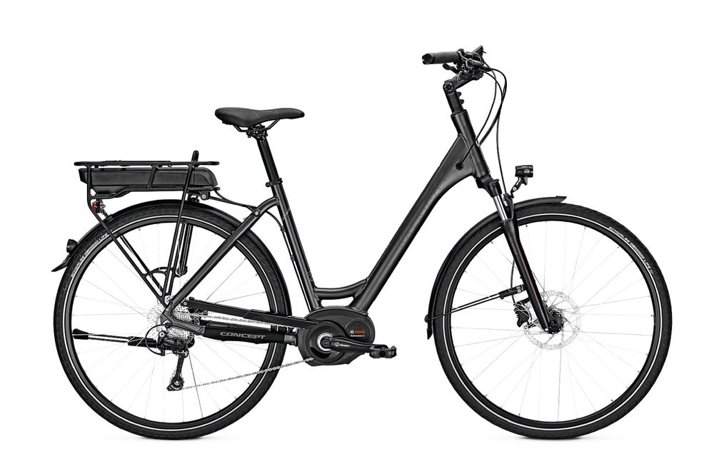 E-Bike Kalkhoff Pro Connect b10 13.4 Ah 28 Zoll 10G Wave Freilauf darkgrey matt
