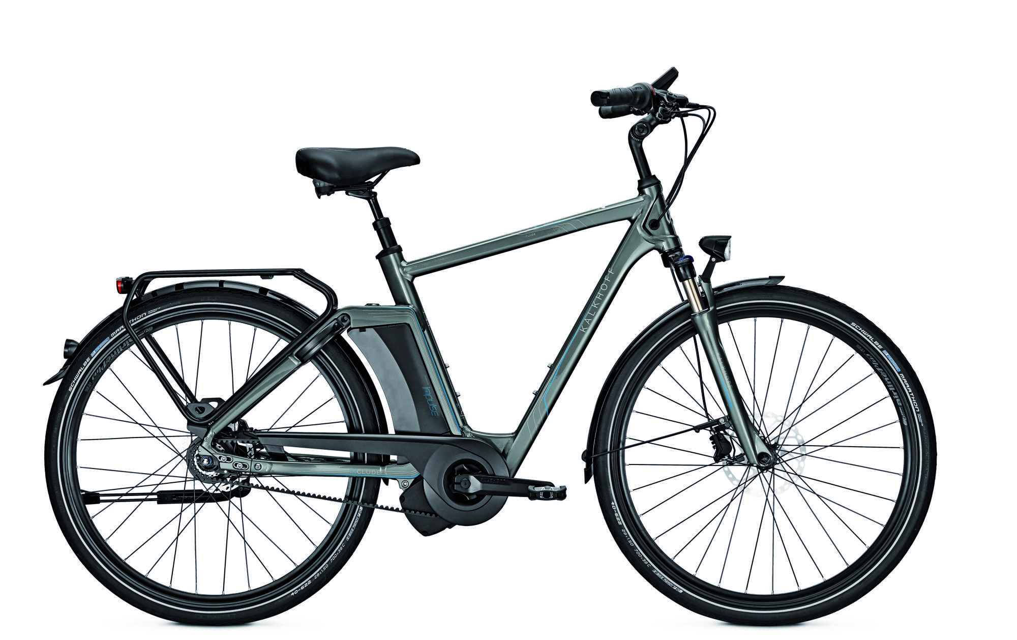 ebike kalkhoff include xxl i8 17ah 170 kg riemen 28 8g herren freilauf irongrey radsport e. Black Bedroom Furniture Sets. Home Design Ideas