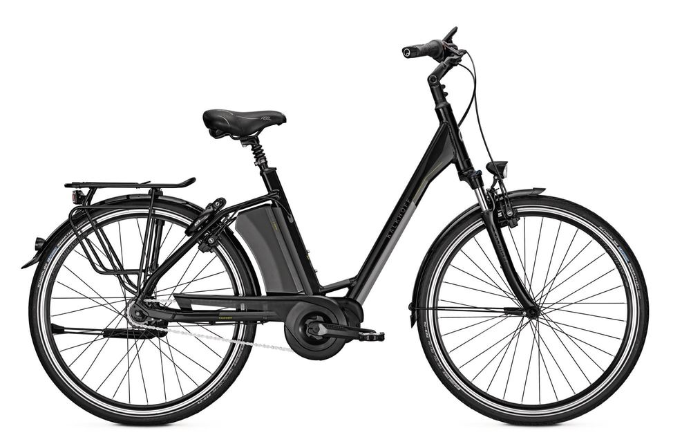 E-Bike Kalkhoff Select s8 17.5 Ah 28 Zoll 8G Wave Freilauf in magicblack