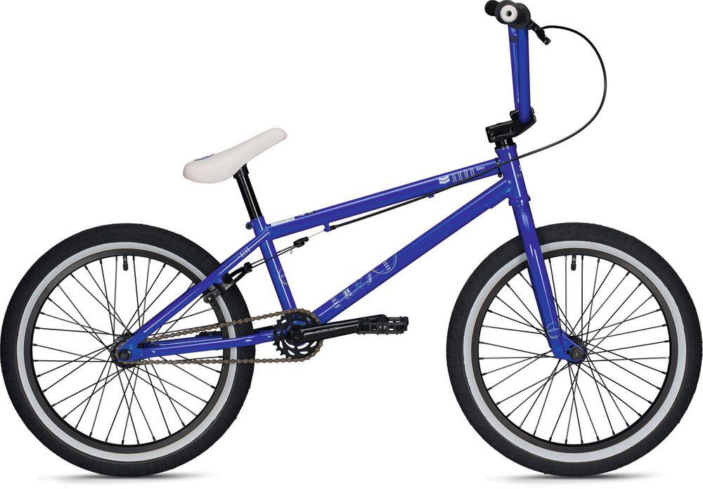 "BMX Haro Boulevard Freestyle 20,5"" Oberrohr 20"" Räder         Rh 24 cm blau"