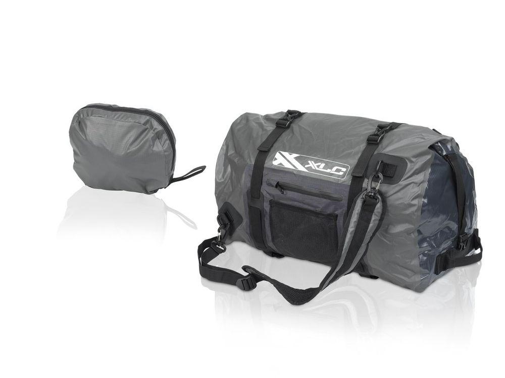 Sporttasche XLC BA-W24 schwarz/graphit, wasserdicht