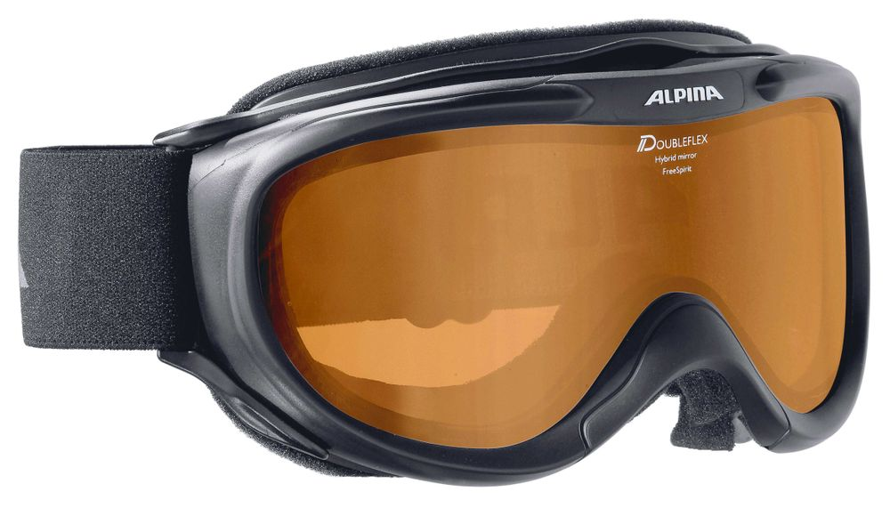 Skibrille Alpina FREESPIRIT HM white & black