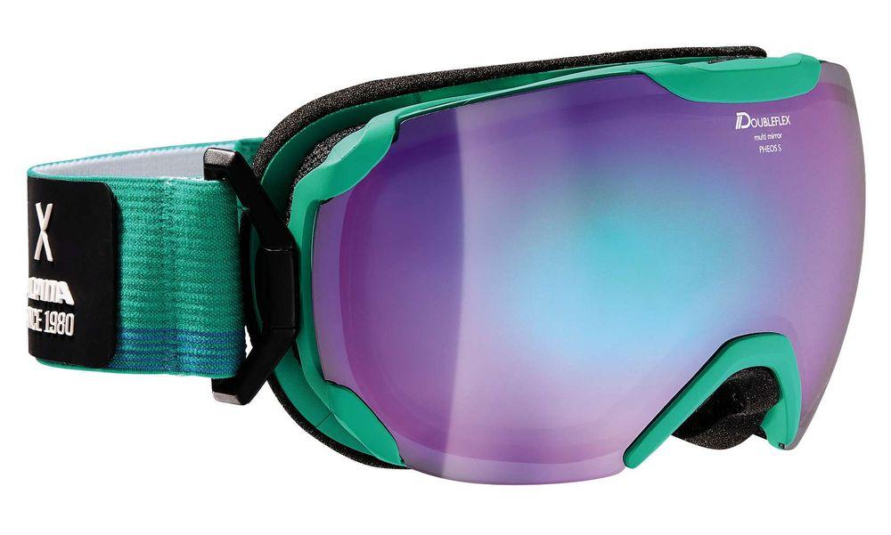Skibrille Alpina PHEOS S MM Hinge Band Multimirror verspiegelt beschlagfrei