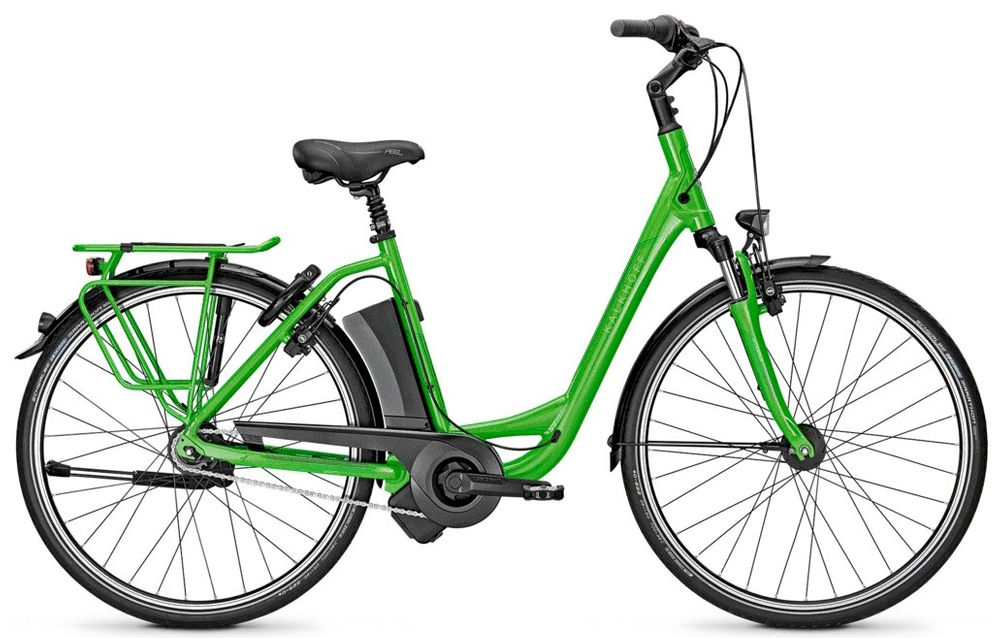 "E-Bike Kalkhoff AGATTU IMPULSE 8R HS 8G Rücktritt 28"" 11 Ah Wave green"