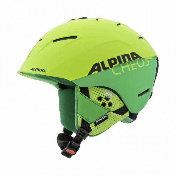 Skihelm Alpina CHEOS two-green