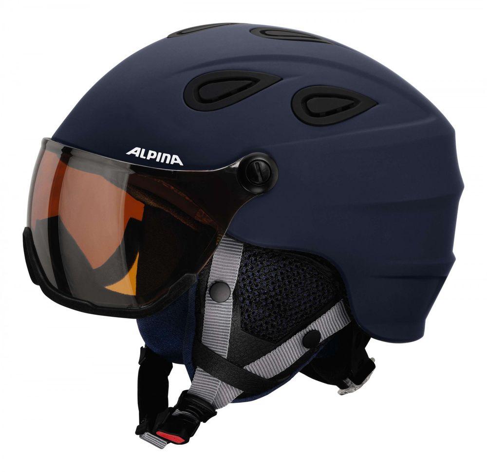 Skihelm Alpina GRAP Visor HM Visierhelm – Bild 2