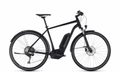 "E-Bike CUBE Cross Hybrid Race Allroad 500 11-Gang 28"" Herren Freilauf in black´n´white"