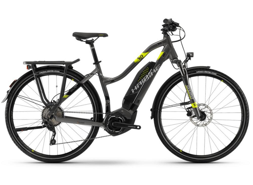 """E-Bike Haibike SDURO Trekking 4.0 28"""" Damen 10-G Shimano M6000 Yamaha PW"""