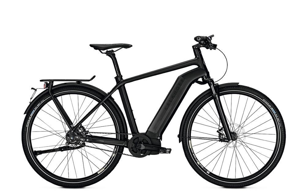 "E-Bike Kalkhoff Integrale I11 Speed 11G 17 Ah Herren 28"" 45 km/h Freilauf magicblack matt/glossy"