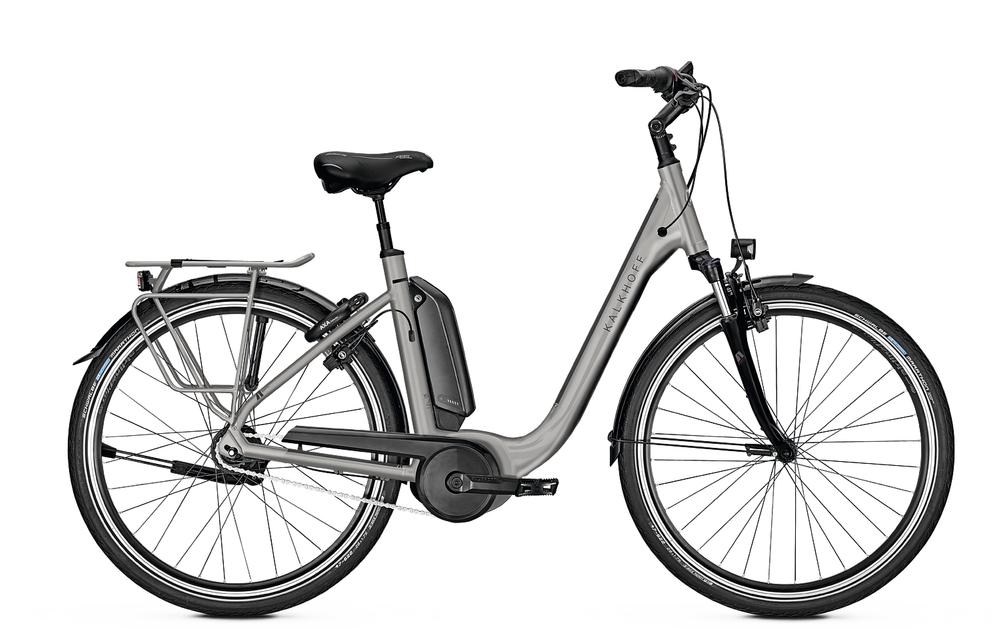 "E-Bike Kalkhoff Agattu B8 XXL 8G 13,4 Ah Wave 28"" Freilauf smokesilver matt"