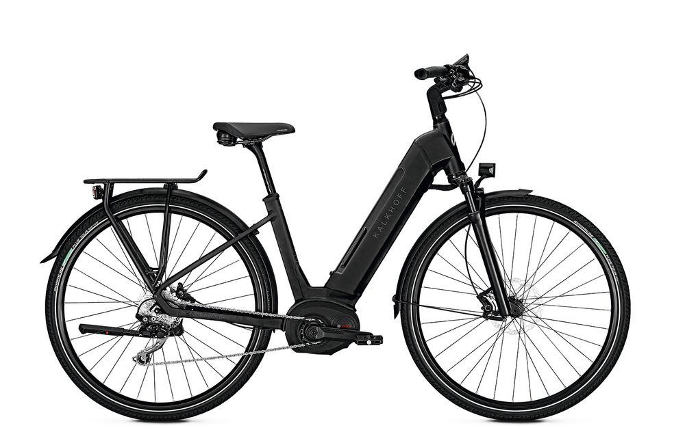 "E-Bike Kalkhoff Endeavour Move B9 tief 28"" 500WH  9G Freilauf schwarz"