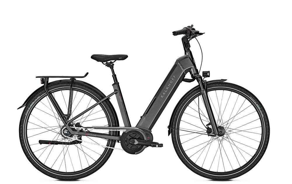 "E-Bike Kalkhoff Image MOVE B8 8G 13,4 Ah Wave 28"" Freilauf diamondblack matt"