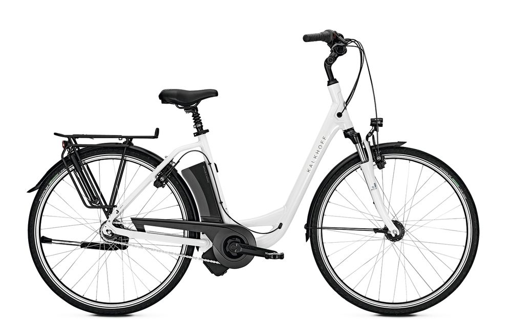 "E-Bike Kalkhoff Jubilee I7 Advance 7G 11 Ah Wave 28"" Freilauf white glossy"