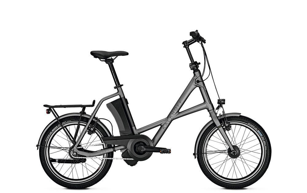 "E-Bike Kalkhoff Sahel I8R Compact 8G 17 Ah Compact 20"" Rücktritt Rh 46 torontogrey"