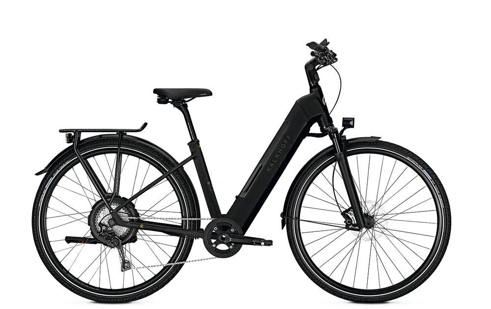 "E-Bike Kalkhoff Endeavour Advance N10 10G 13,8 Ah Wave 28"" Freilauf magicblack matt"