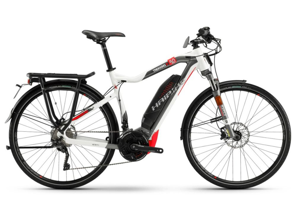 E-Bike Haibike SDURO Trekking S 8.0 20G XT 500 Wh Herren 2018 bis 45 km/h