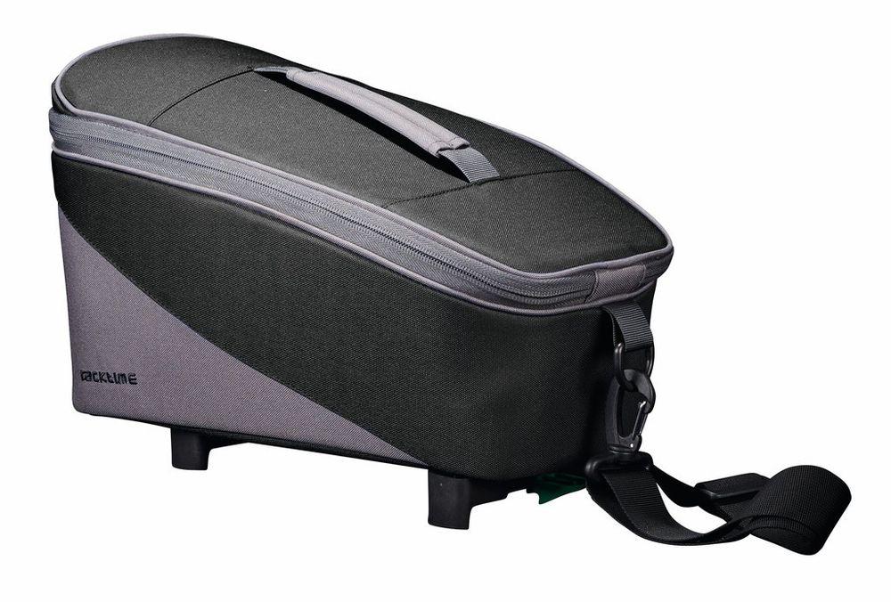 Fahrradtasche Racktime Talis schwarz/grau inkl. Snapit Adapter 8L