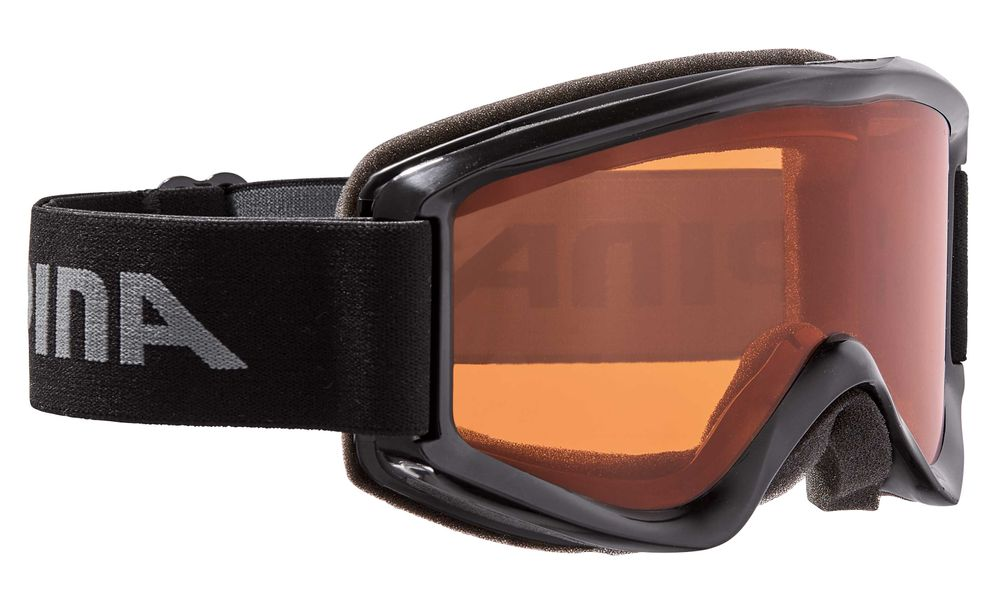 Skibrille Alpina SMASH 2.0 black SH orange Scheibe