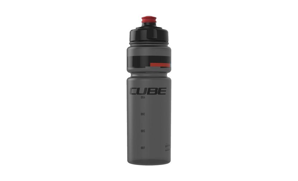 CUBE Trinkflasche 0,75l Teamline in black´n´red´n´blue