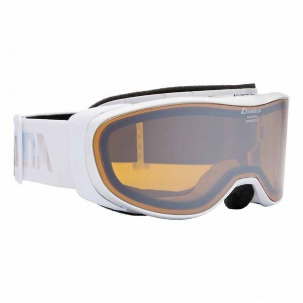 Skibrille Alpina Bonfire 2.0 beschlagfrei mit comfort Frame in pearlwhite