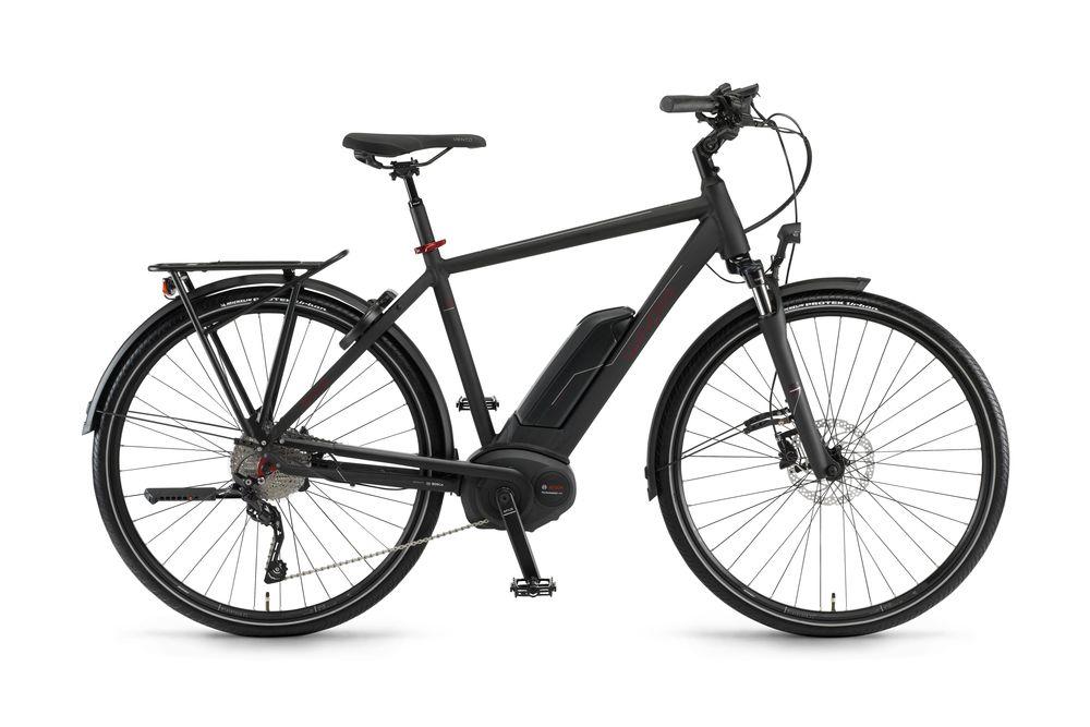 E-Bike Sinus Tria 10 Performance Cruise 500 Wh 10G Deore 28 Zoll Herren Schwarz
