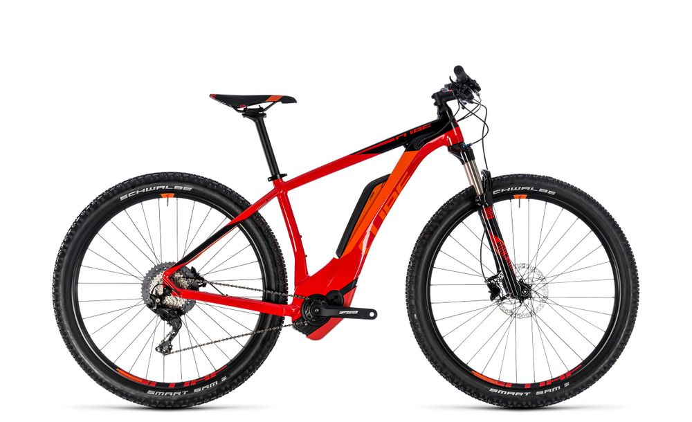 "E-Bike MTB Cube Reaction Hybrid Race 500 27.5"" 500Wh 11G XT red´n´black"
