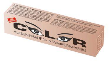 Comair Color Augenbrauen- und Wimpernfarbe lichtbraun 15ml