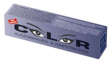 Comair Color Augenbrauen- und Wimpernfarbe blauschwarz 15ml