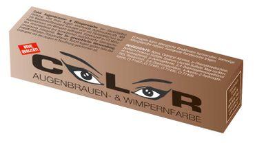 Comair Color Augenbrauen- und Wimpernfarbe naturbraun 15ml