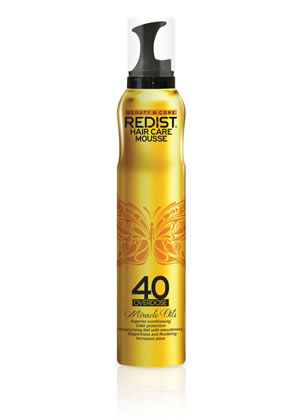 Redist 40 Miracle Oils Hair Mousse 200ml