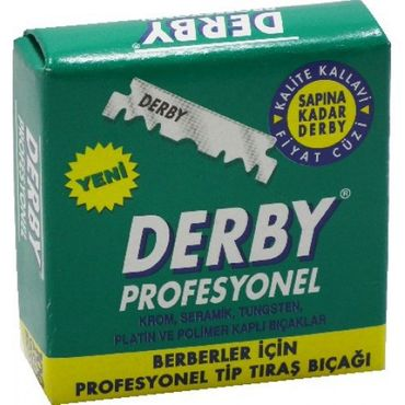 Derby Professional Rasierklingen 5 x 100er – Bild 1