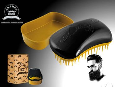 Dessata BARBER Brush black/gold