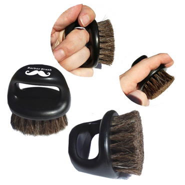 Barber Finger Brush schwarz – Bild 2