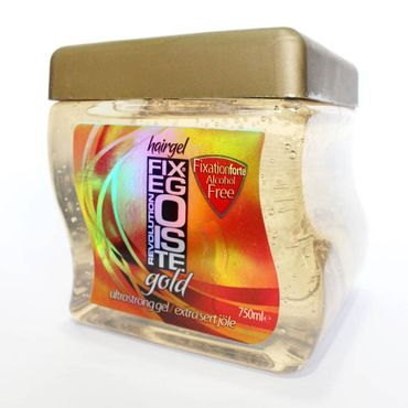 Fixegoiste Hairgel Gold Ultra Strong 750ml