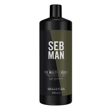 SEB MAN The Multitasker 3in1 Hair, Beard & Body Wash 1000ml