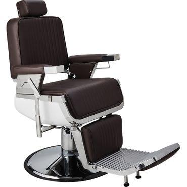 Barberstuhl Lord braun – Bild 1