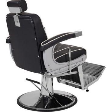 Barberstuhl Borg schwarz – Bild 4