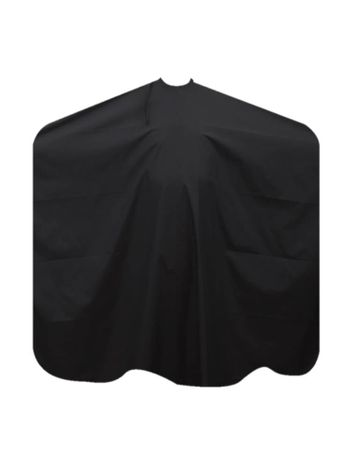 10 x Friseurumhang schwarz mit Hakenverschluss
