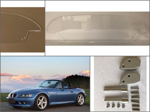 Windschott BMW Z3 Z 3 Acrylglas MARKEN WINDSCHOTT NEU für Facelift ab 1999