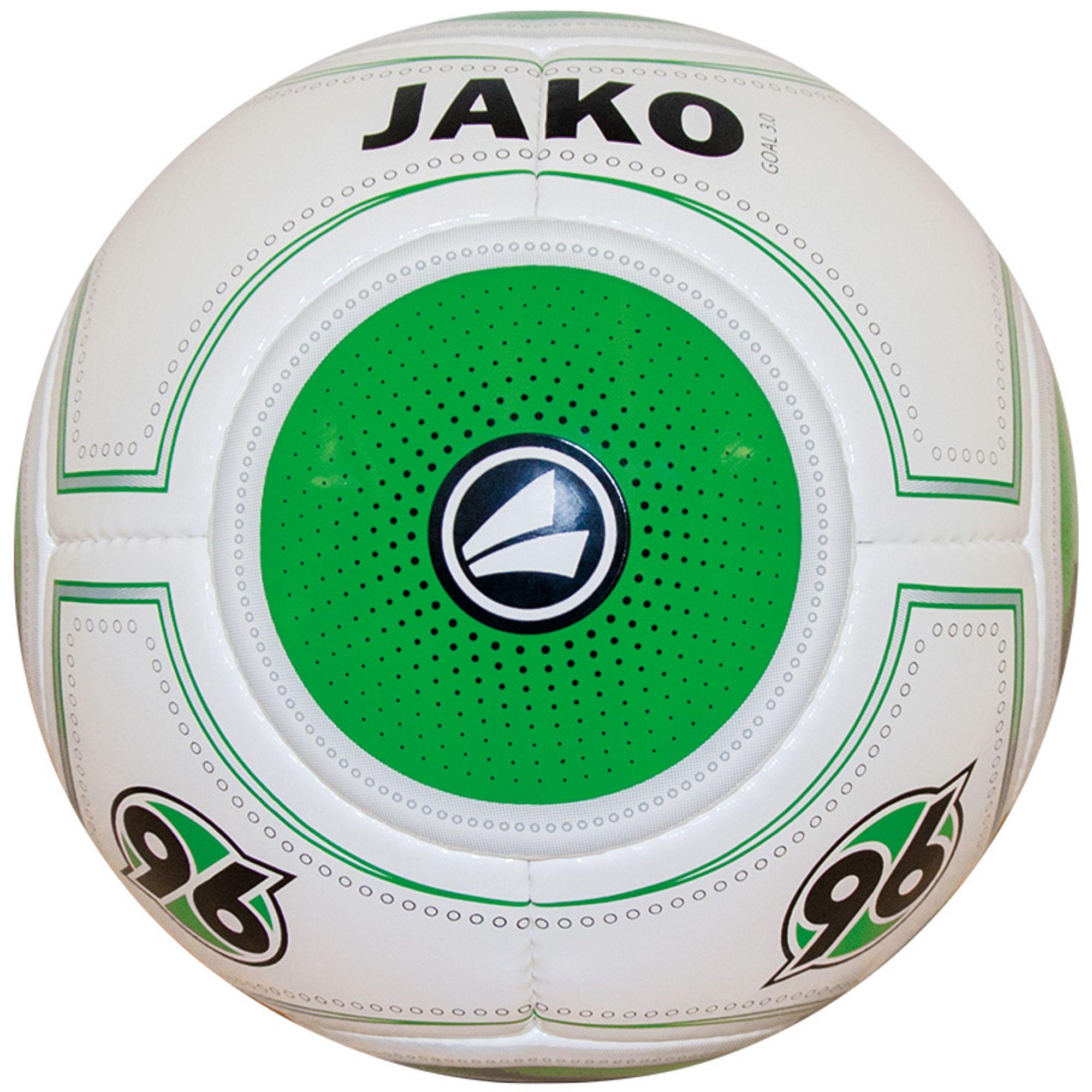 Jako Ball Hannover 96 Saison 2015/2016 - weiss/grün