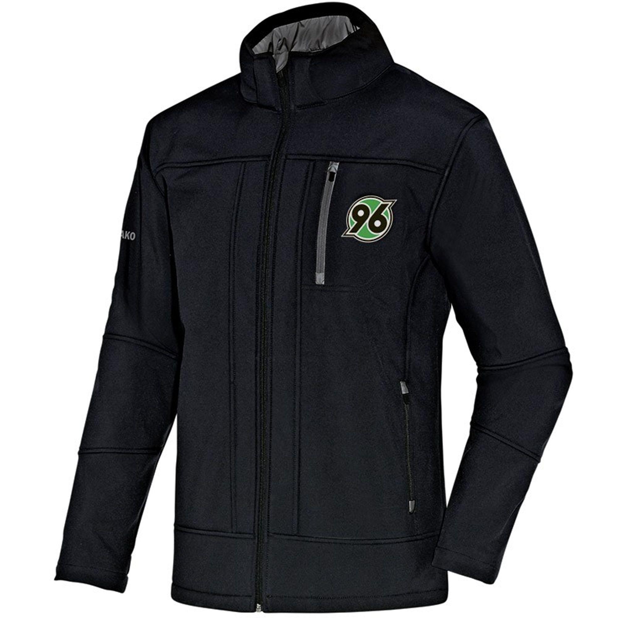 Jako Hannover 96 Softshelljacke Team Saison 2015/2016 - schwarz