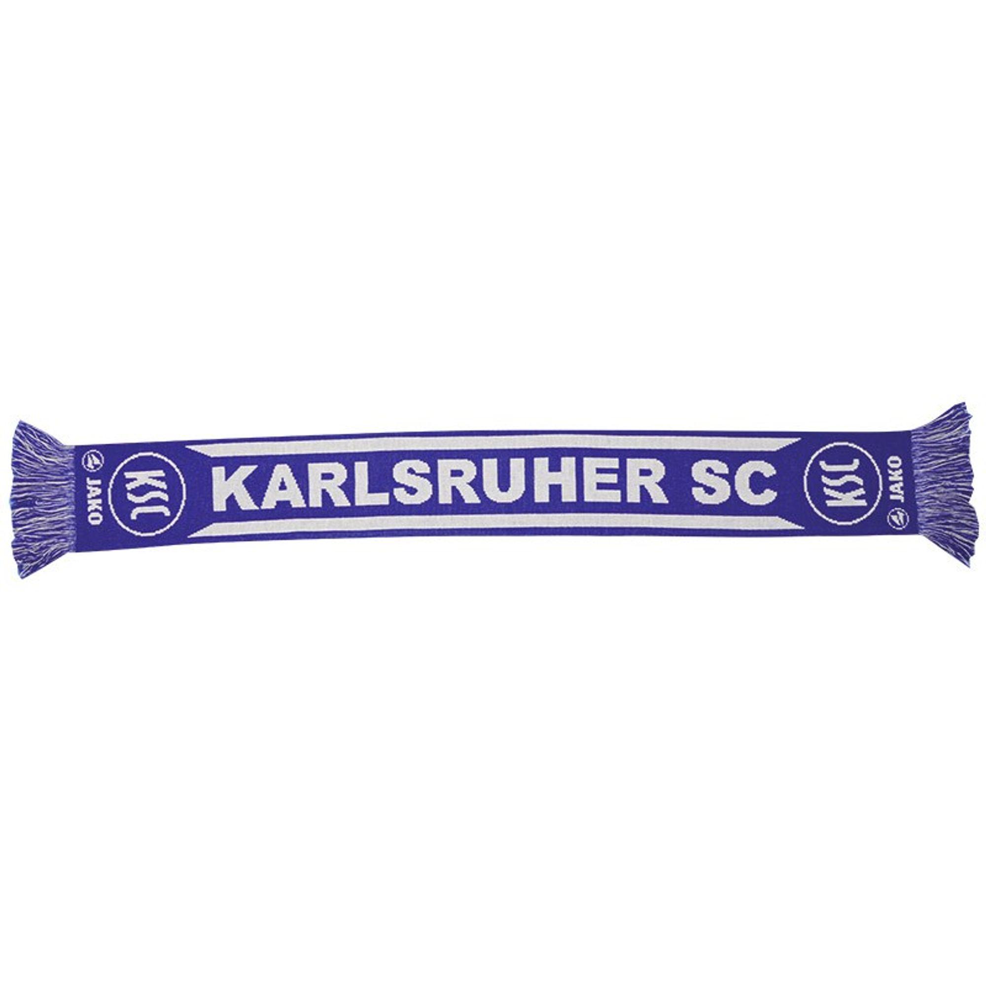 Jako Karlsruher SC Fan- Schal - weiß/royal