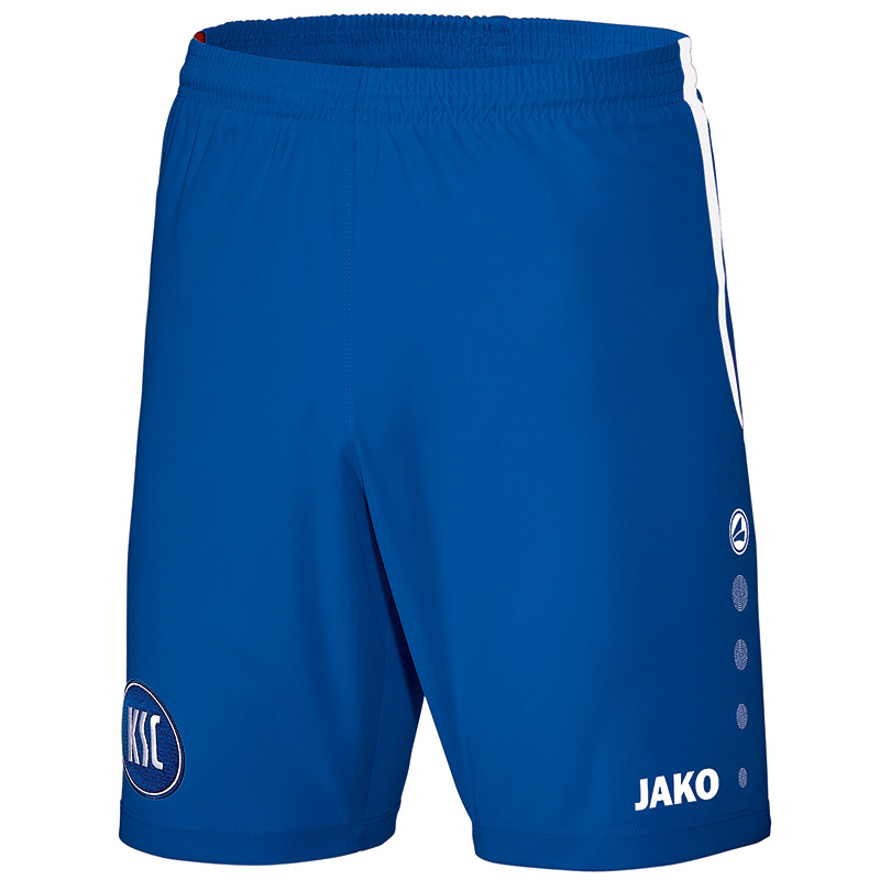 Jako Karlsruher SC Short Away - royal/weiß