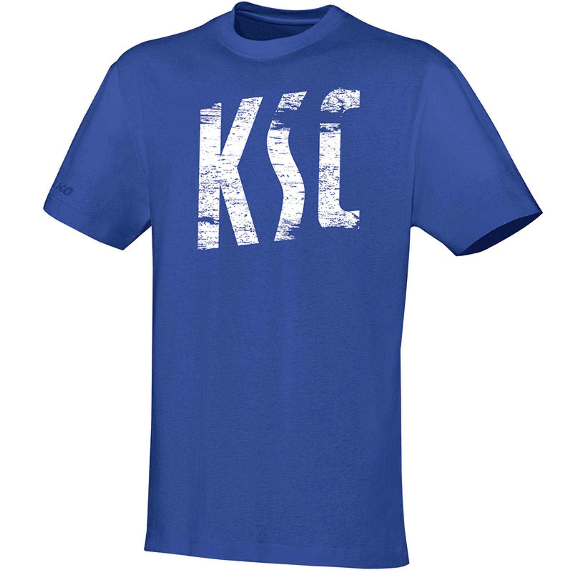 """Jako """"Karlsruher SC T- Shirt """"""""Vintage"""""""""""" - royal"""