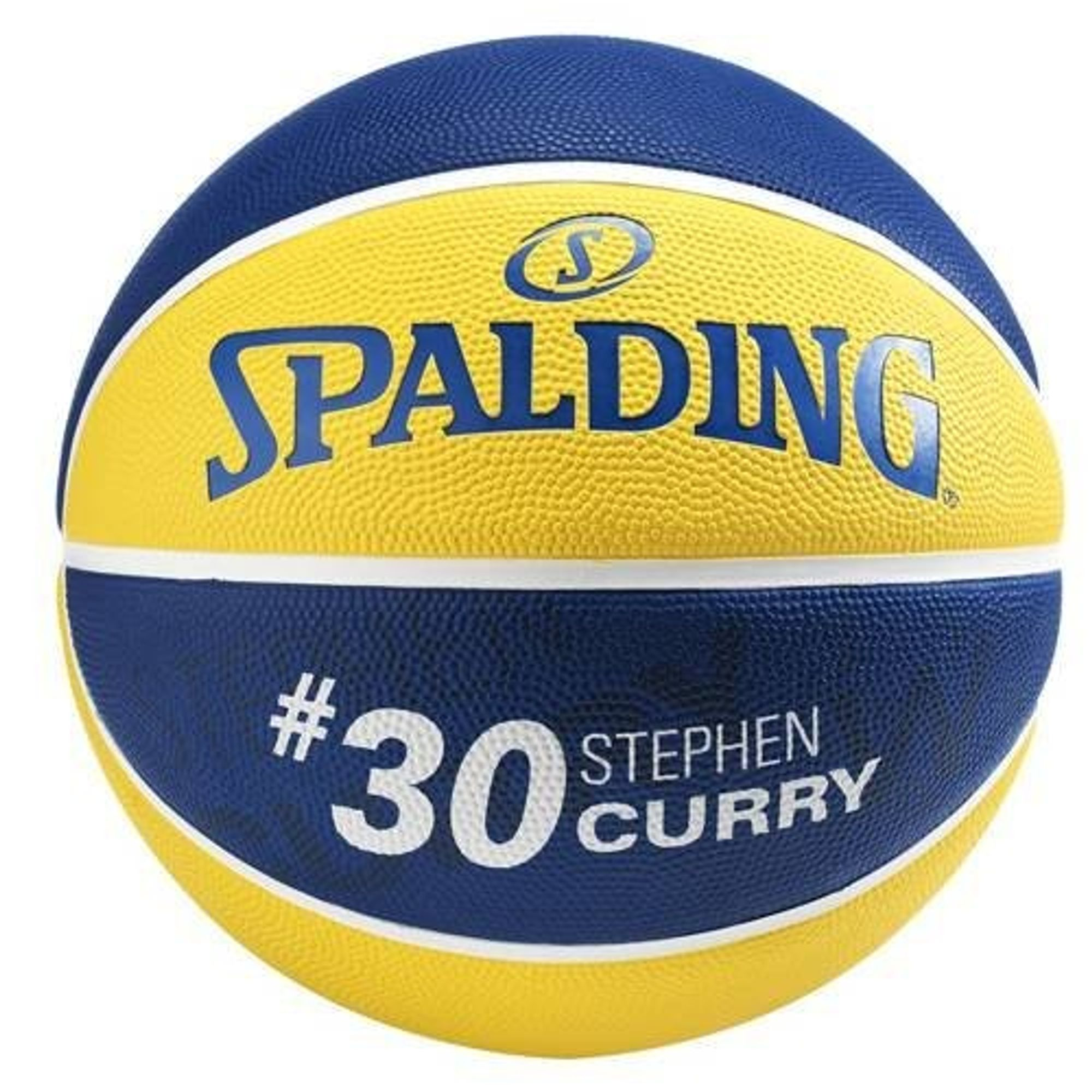 Spalding NBA PLAYER STEPHEN CURRY SZ.5 (83-400Z) - gelb/blau