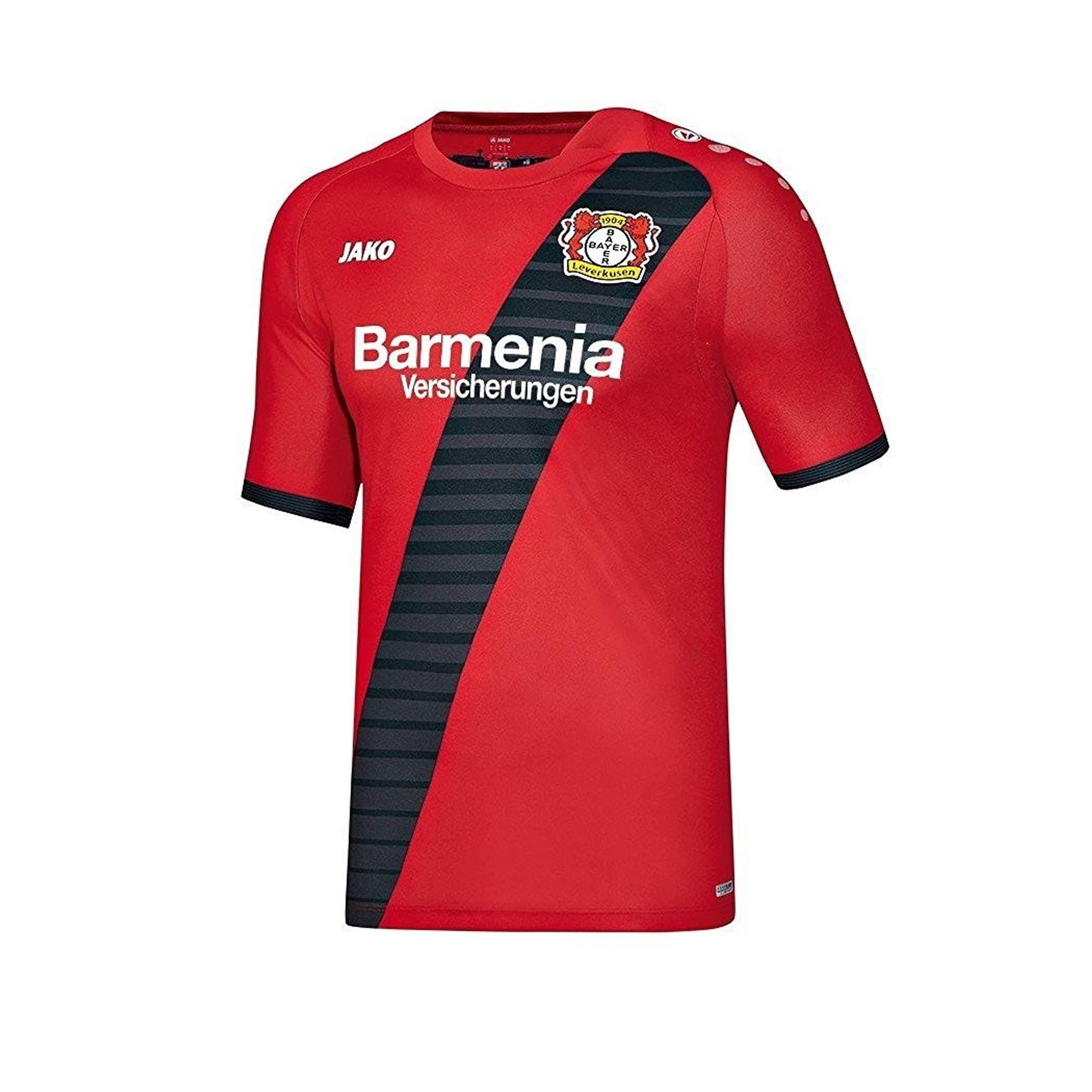 Jako Bayer 04 Leverkusen Trikot Away KA - rot
